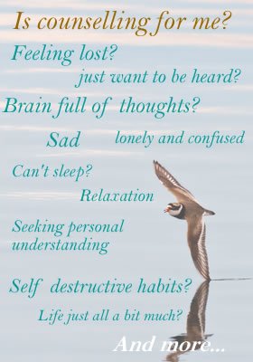 counselling can help with
